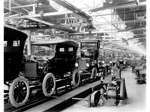 Before The Assembly Line It Took 12 Hours To Build One Model T When Was Made Only Two And 30 Minutes